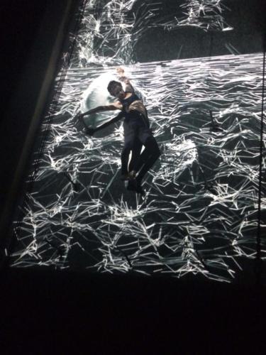 Weltensegler2.Premiere,Berlin.2019.Projektion mit Lea
